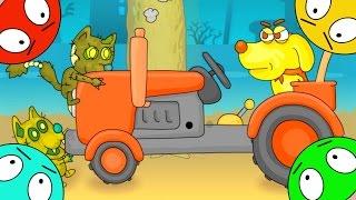 🐾 СУПЕР ПЕС против ЗОМБИ котов – мультик ИГРА про зомбяков мультфильм про собаку