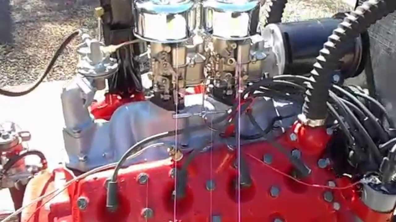 1953 Ford Flathead 239 8ba Hot Rod Engine Running Youtube