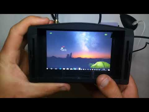 Como usar o simulador de drone DRL no Óculos FPV Eachine EV800
