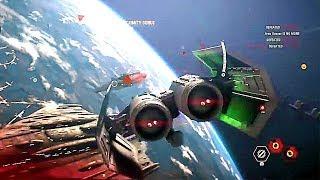 STAR WARS BATTLEFRONT 2 Starfighter Assault Gameplay Demo (Gamescom 2017)