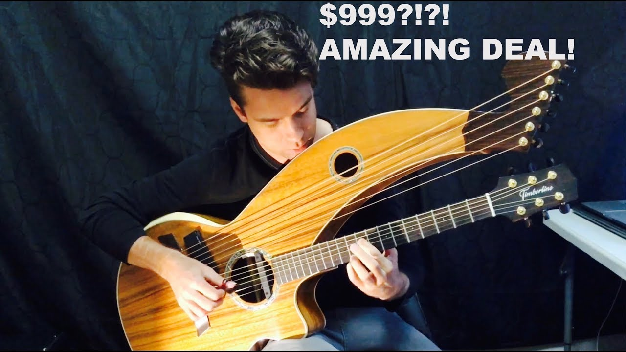 timberline harp guitar is the best for its price review youtube. Black Bedroom Furniture Sets. Home Design Ideas