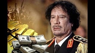 С замороженных счетов Каддафи исчезли миллиарды евро