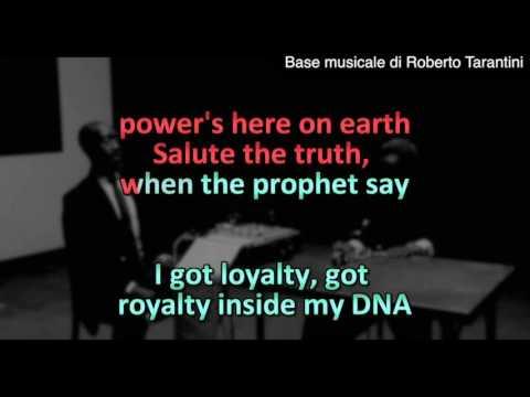 Kendrick Lamar - DNA (Instrumental KARAOKE Original)