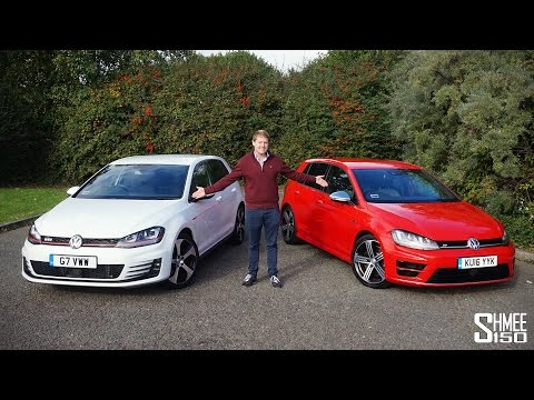 VW Golf R or Golf GTI Back to Back Test Drives