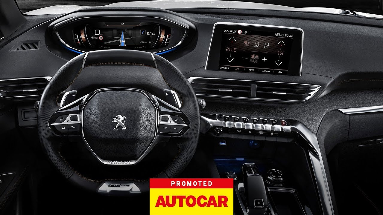 promoted the peugeot 3008 suv i cockpit autocar [ 1280 x 720 Pixel ]