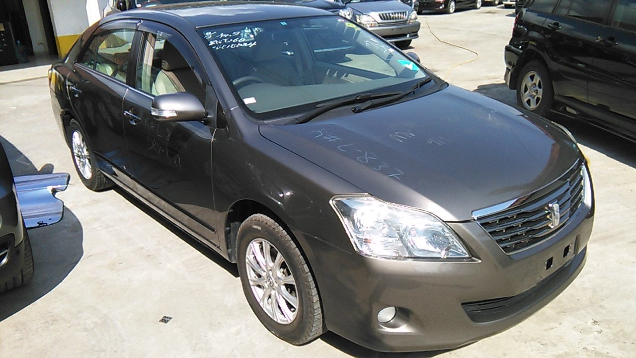 Toyota Premio 2007 Grey Available Now At Harab Motors Youtube Old
