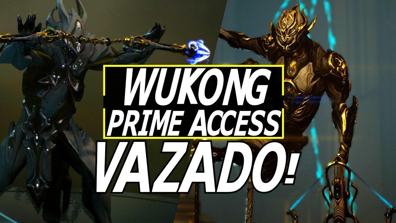 VAZOU: Wukong Prime, Zhuge Prime, Ninkondi Prime & Prime Vault Loki/Volt  Acabando! | Warframe