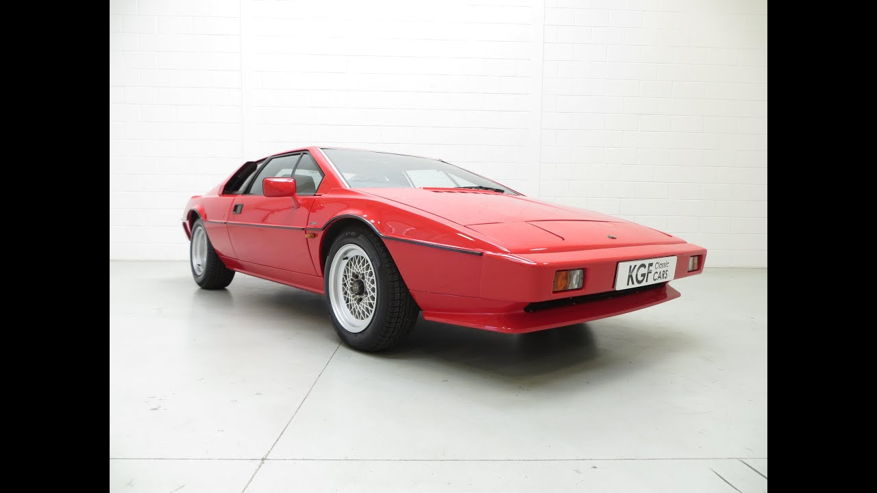 Esprit New A Sensational And Cherished Lotus Esprit Series 3 With Only 42 913 Miles From New Sold