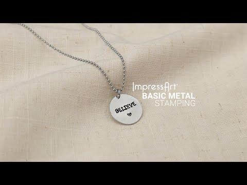 Impressart How To Metal Stamp