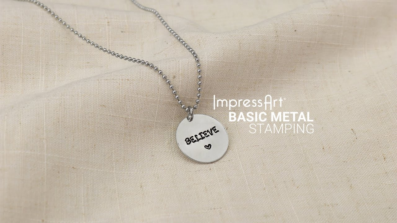 ImpressArt U | How to Metal Stamp