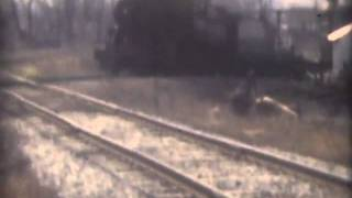 Lehigh Valley Railroad: Last day of steam in Horseheads, NY. April 1950