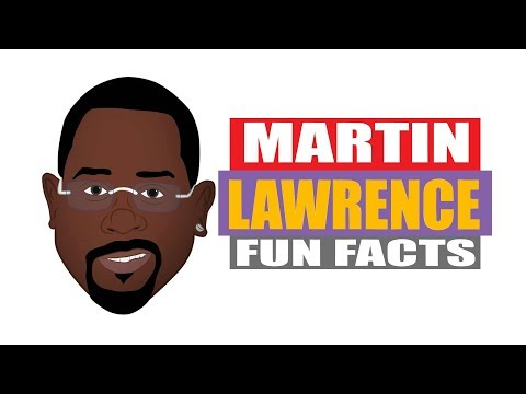 Fun Facts for Kids! Learn interesting facts about Martin Lawrence from his Biography