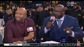 Shaq IMPRESSED by Kawhi (36 Pts) and Raptors blow up Warriors 105-92 despite Klay return 28 Pts