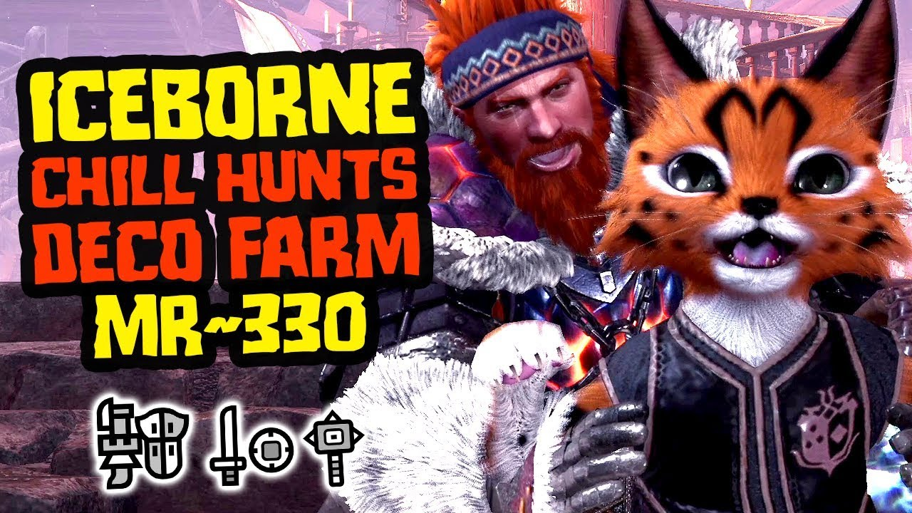 Iceborne Chill Hunts, Getting Decos, Good Times - Monster Hunter World [MR 330] thumbnail