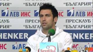 Martin Kamburov became player of the round for the fourth time