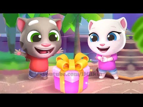 Talking Tom Fun Fair Short - New Game 2019 By Outfit7 Android Gameplay 8-15 Levels Walkthrough #2