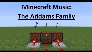 Video Minecraft Music: The Addams Family download MP3, 3GP, MP4, WEBM, AVI, FLV Maret 2018