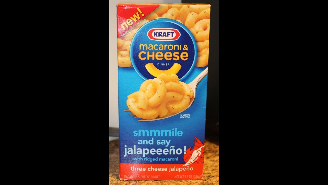Kraft Macaroni & Cheese: Three Cheese Jalapeno Review ...