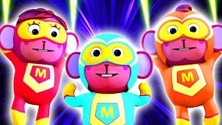 SUPERHERO FAMILY SONG | 3D Nursery Rhymes For Toddlers By All Babies Channel