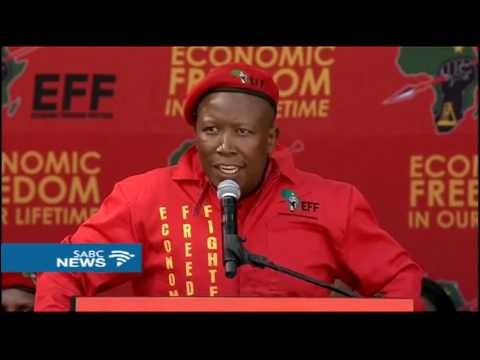 The history of Economic Freedom Fighters