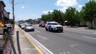 Orlando Police Department Two Police SUV's Responding