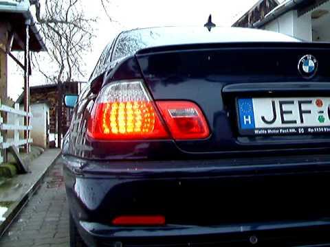 Bmw E46 M3 >> BMW E46 LED Tail lights - YouTube