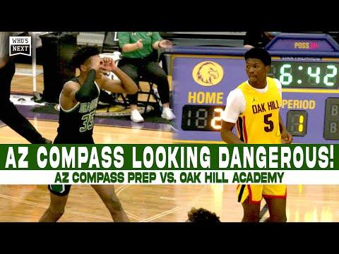 AZ Compass Looking DANGEROUS! AZ Compass Prep vs. Oak Hill Academy at MAIT 2021