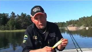 Jerkbeten och deras gång-Tema Trumman - Jerk bait action