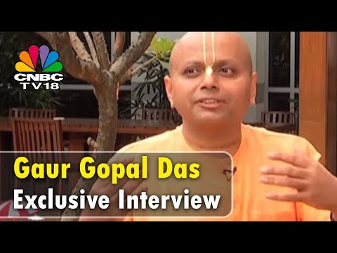 Gaur Gopal Das Exclusive Interview | Weekender | CNBC TV18
