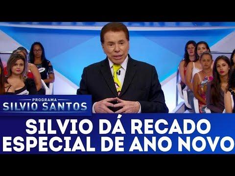 Silvio Santos dá recado especial de ano novo | Programa Silvio Santos (31/12/17)