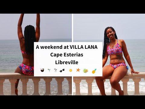 A weekend at VILLA LANA 🏝 | Living in Gabon🇬🇦 |Lorna Maria