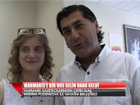 MARMARİS'E BİR RUS GELİN DAHA GELDİ