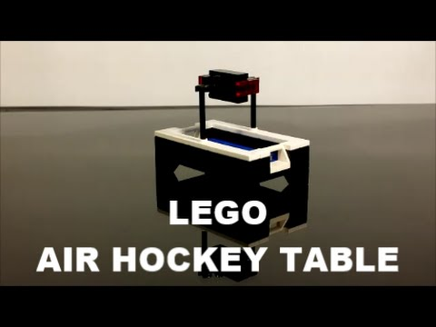 How To Build A Lego Air Hockey Table
