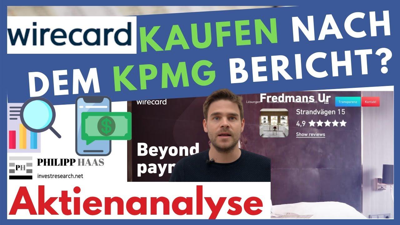 Wirecard Aktie Kpmg