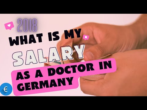 Salary of Doctors in Germany in 2018 - YouTube