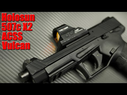 Holosun 507c X2 ACSS Vulcan Review: An Amazing Pistol Optic For The Money
