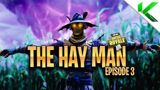 HOW HAY MAN BECAME EVIL! *NEW* HAY MAN SKIN | A Fortnite Short Film