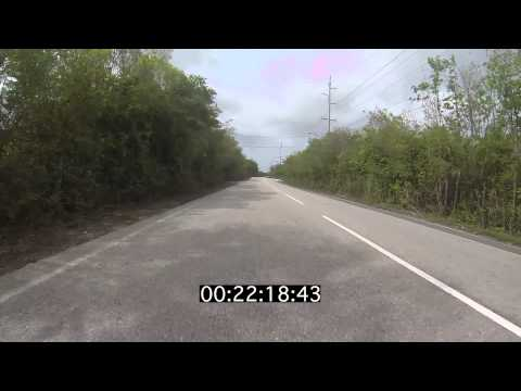 Cycle Scenery #12 Bodden Town to Frank Sound Road Island Crossing Grand Cayman