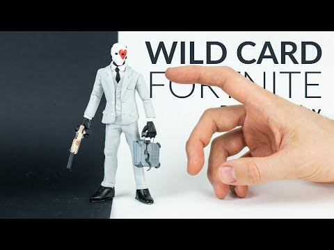 Wild Card & Suppressed Pistol (Fortnite Battle Royale) – Polymer Clay Tutorial