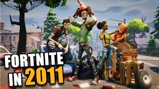 What Fortnite Looked Like in 2011