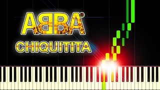 ABBA - Chiquitita - Piano Tutorial