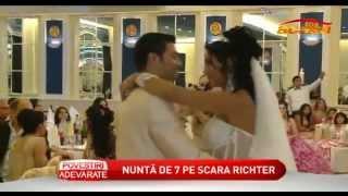 Nunta tiganeasca - Ermina si Hubert (ambii nepoti ai Mariei Campina)