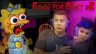 3AM AT THE SIMPSONS HOUSE BABY SITTING MAGGIE! Eggs For Bart Night 2