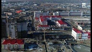 Капитальная стройка - Возведение социальной инфраструктуры нового микрорайона Черкесска (28.02.2019)
