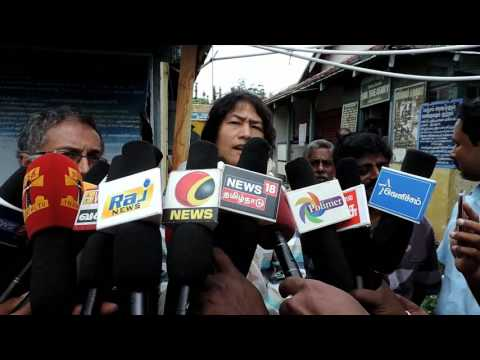Tamil Nadu is a silent park and a place to live in peace   Irom Sharmila interview with Kodaikanal