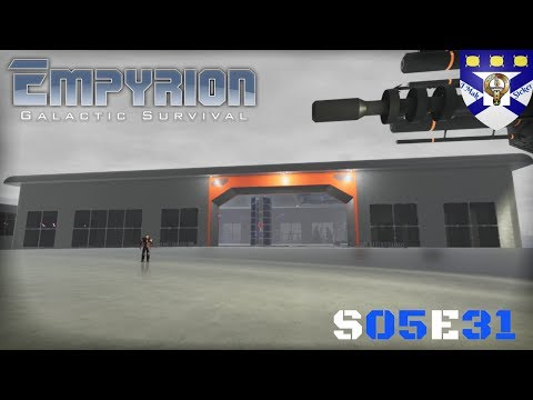 """Empyrion Galactic Survival (S05) -Ep 31 """"Starport Workshop Stage 2"""" -Multiplayer """"Let's Play"""""""