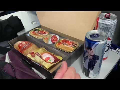 Кошерное питание в самолёте
