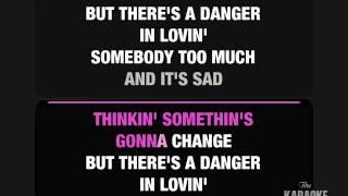 Sometimes Love Just Ain't Enough Karaoke (Male Part Sung)