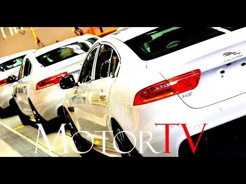 CAR FACTORY : 2017 JAGUAR XE PRODUCTION l Clip