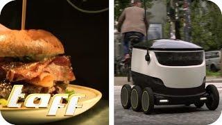 Dieser ROBOTER LIEFERT dein ABENDESSEN - Die Trends der Zukunft | taff | ProSieben